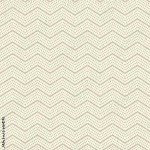 Foto auf AluDibond Boho-Stil Vector zigzag seamless pattern