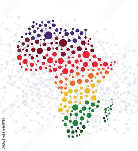 afryka-abstrakcjonistyczny-tlo-z-kropka-zwiazku-wektorem