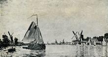 Zaan At Zaandam (Claude Monet,...