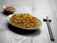 Nasi Goreng With Sambal, Fried...