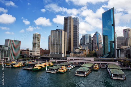 Ferries at Circular Quay, Sydney