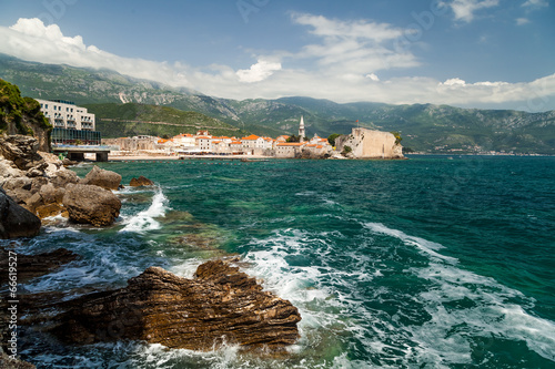 City on the water Budva old town