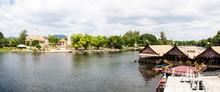 View Over River Kwai, Kanchanaburi Province, Thailand