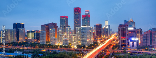 Photo sur Aluminium Pekin Beijing Skyline