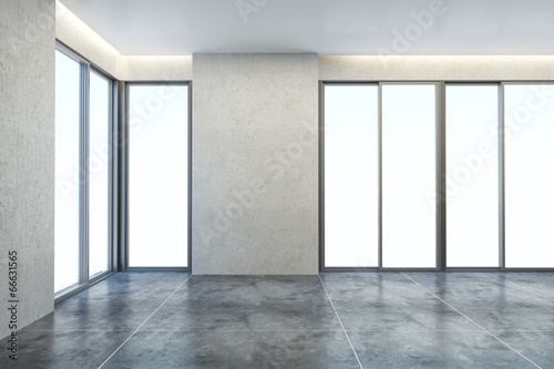 empty new office room - Buy this stock illustration and explore ...