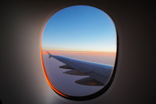 A Window View Of The Wing At D...
