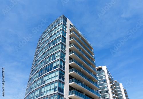 Modern Condo Tower Fototapet