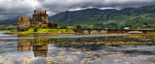 Panoramic Of Eilean Donan Cast...