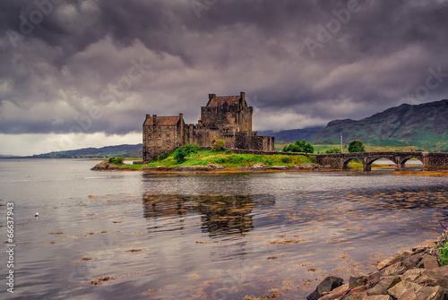 фотография  Eilean Donan Castle, Highlands, Scotland