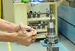 Make a hard locking to drill tool
