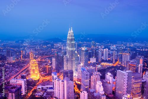 Canvas Prints Kuala Lumpur Kuala Lumpur skyline - Malaysia.