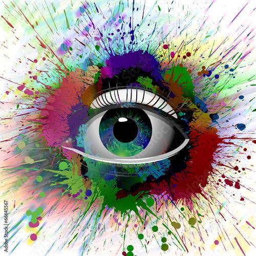 hipnotyczne-oko-abstrakcja