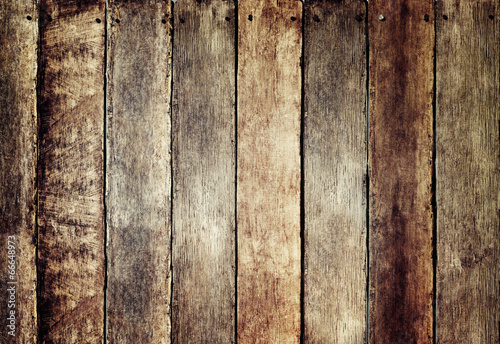 Foto op Plexiglas Wand Wooden Fence with Copy Space