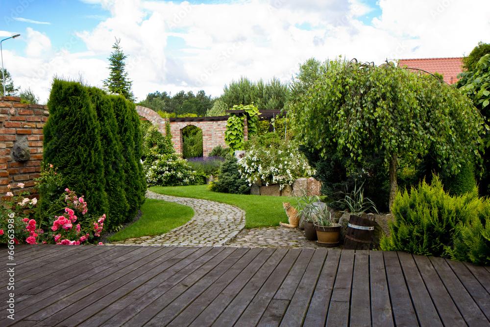 Fototapety, obrazy: ogród