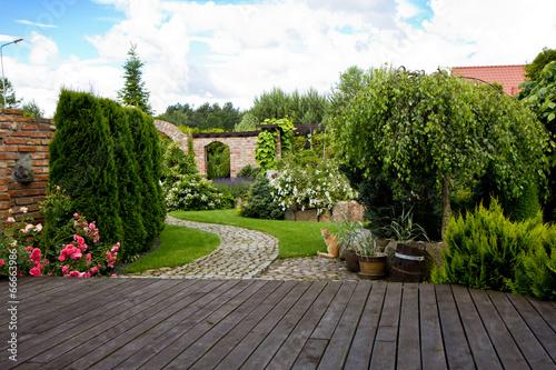 Láminas  ogród