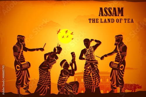 Culture of Assam Wallpaper Mural