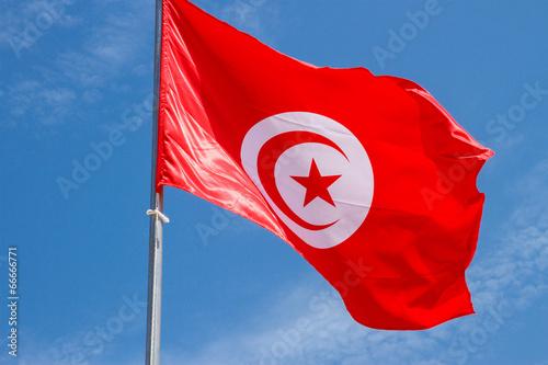 Poster Tunesië Флаг. Тунис