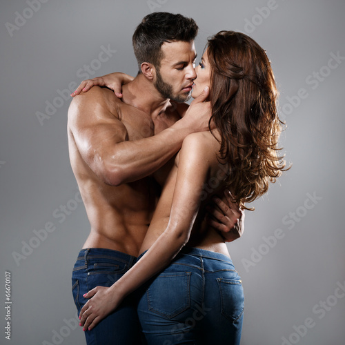 Photo  Passion woman and man