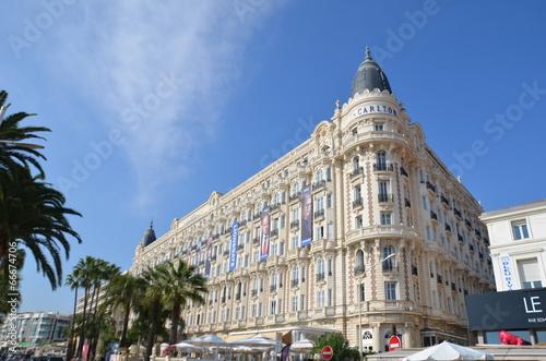 Fotografie, Obraz  Hôtel à Cannes, French Riviera