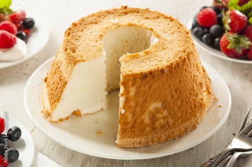 Fotografie, Tablou  Homemade Angel Food Cake