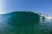 Wave Water Crashing Blue Swimm...