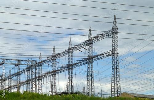 Photo  Power line