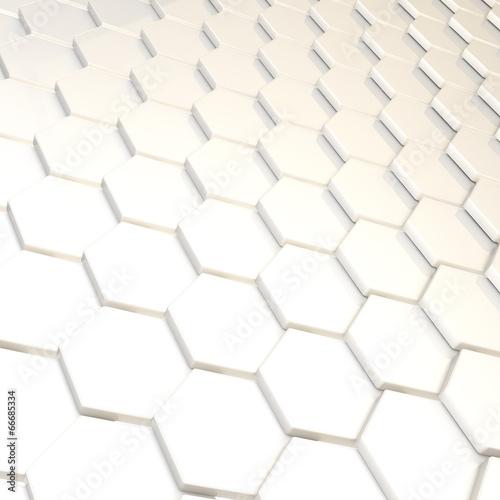 Naklejka dekoracyjna Abstract background hexagon plate