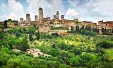 San Gimignano Panorama - Medie...