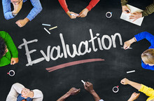 Multi-Ethnic Group Of People And Evaluation Concept