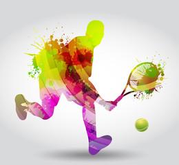 Panel Szklany Tenis Tennis, competizione, torneo