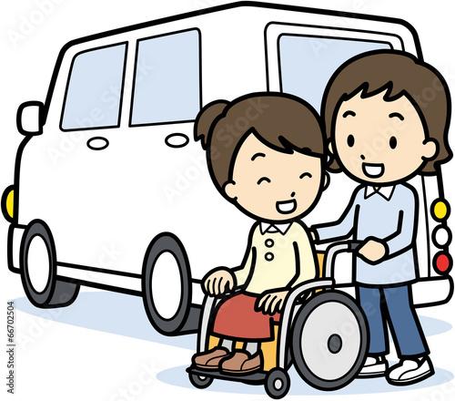 Valokuva  介護タクシー