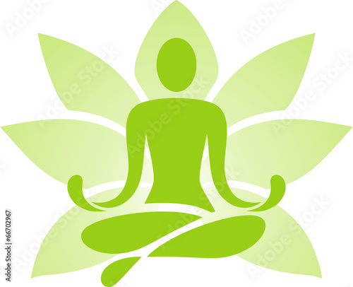 Symbol of yoga