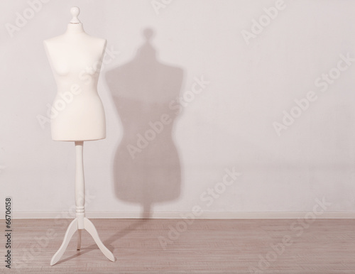 Mannequin in room Canvas Print
