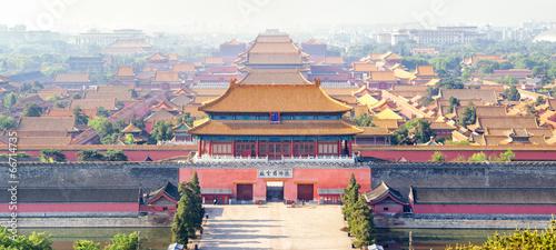 Keuken foto achterwand Peking Verbotene Stadt in Peking