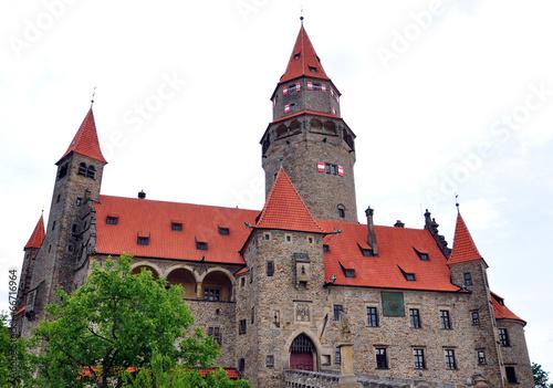 Photo  Castle Bouzov, Moravia, Czech Republic, Europe