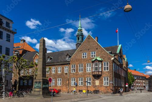 Photo  Bispetorv and Bishop's House in Copenhagen, Denmark