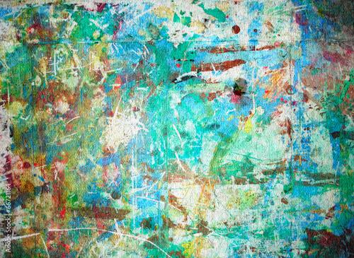 plakat Abstrakcyjna akwarela