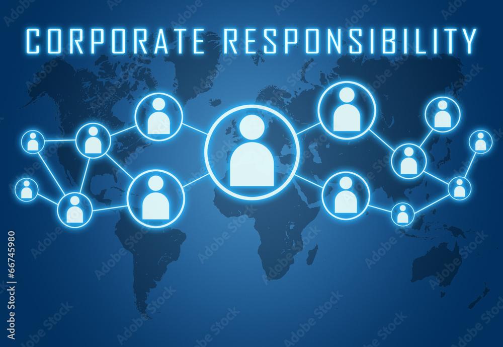 Fototapeta Corporate Responsibility