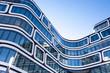 Leinwandbild Motiv modernes Bürogebäude in Deutschland  - Büro