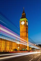 Big Ben zur blauen Stunde