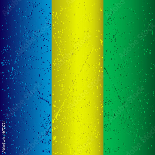 Photo  abstract grunge striped background using brazil flag colors