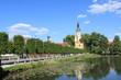 Blick zum Kloster Neuzelle