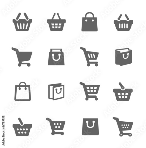 Photo  Shopping Bags and Carts