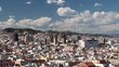 Types of Barcelona aerial view.