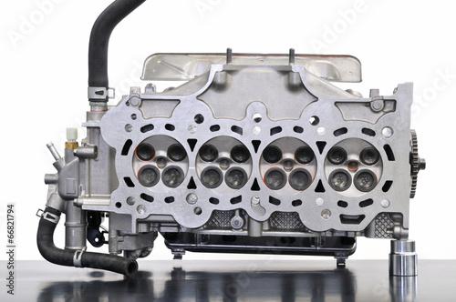 Deurstickers Nasa エンジンのシリンダーヘッド