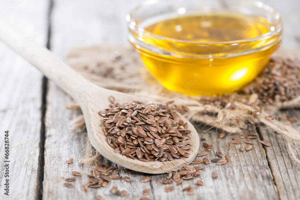 Fototapety, obrazy: Healthy Linseed Oil