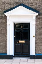 Door Number 16 Close Up