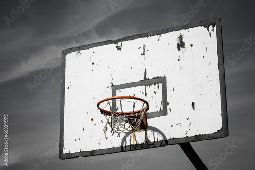 Photo  Basketball basket