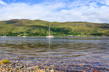 Sailing Boats On Loch Linnhe, ...
