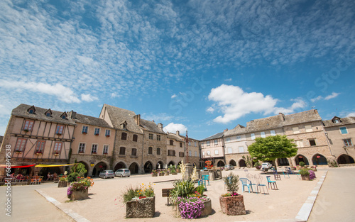 Fotomural Sauveterre de Rouergue, Aveyron